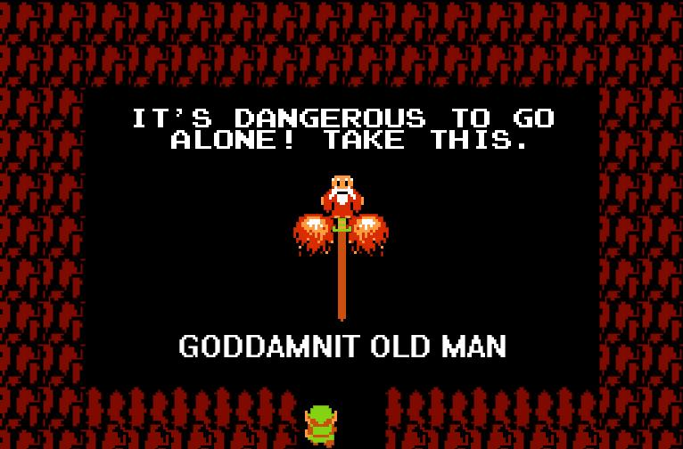 Goddammit Old Man