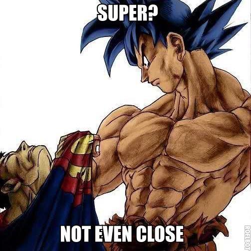 Goku vs Superman Goku Vs Superman Science