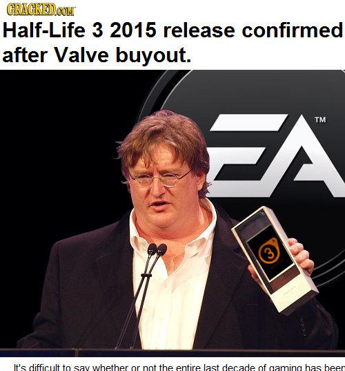 RMX] Half Life 3 Confirmed by recyclebin - Meme Center