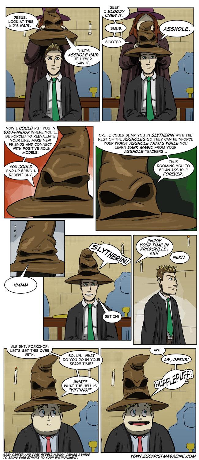 3eff12d0265 Harry Potter Sorting Hat Humor