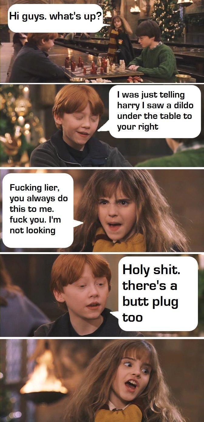 Harry fucked hermione