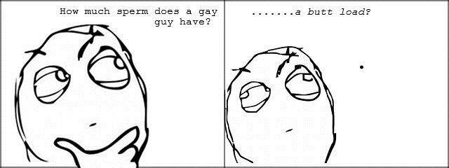 Sperm gay