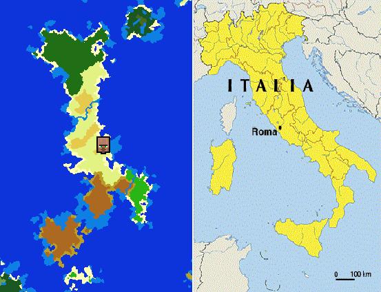 I Found Italy In Minecraft - Japan map minecraft