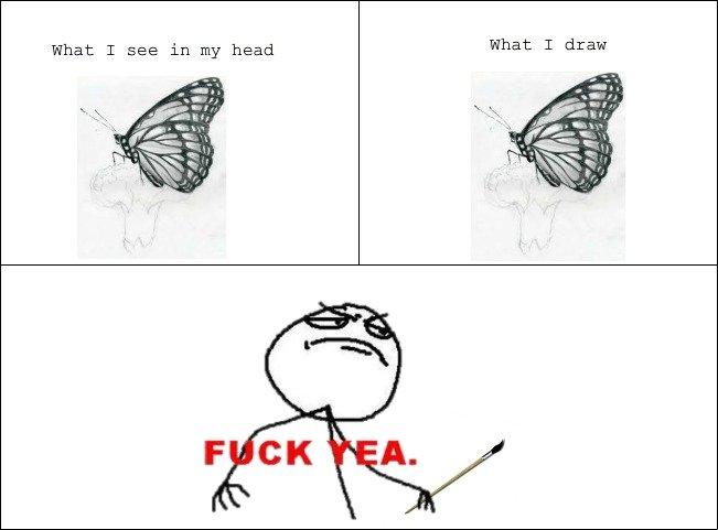 i love being an artist
