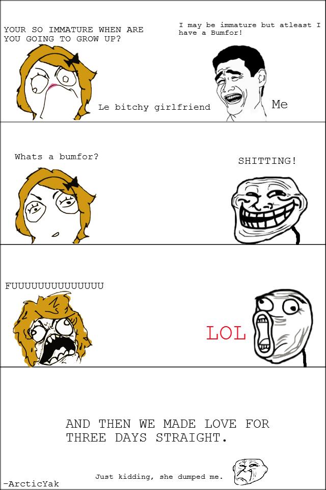 Bitchy jokes