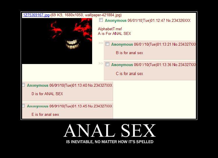 Anal sex fails