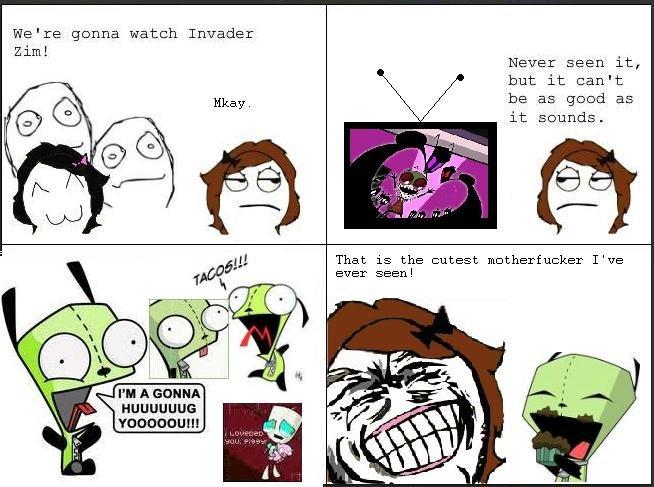 Invader Zim Anti Rage