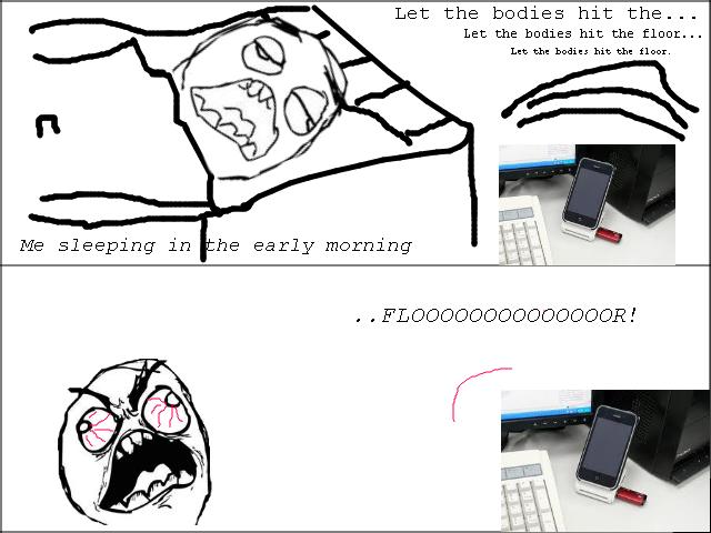 Ipod Alarm Rage Comic