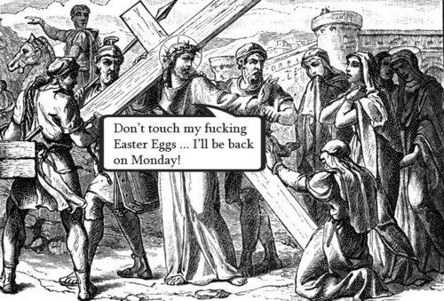 Jesus' Easter EggsJesus Easter Eggs Meme