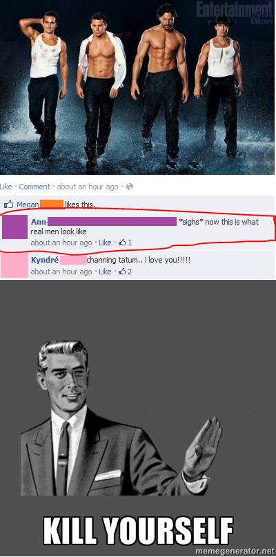 kill yourself man