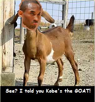 kobe is the goat
