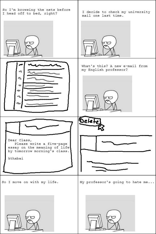 last minute essay