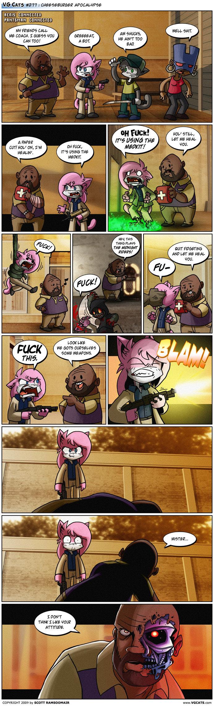 Left 4 Dead 2 Comic