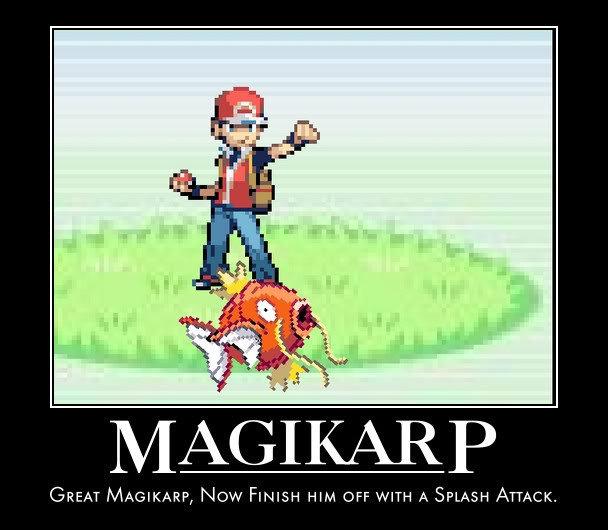 Magikarp splash attack works