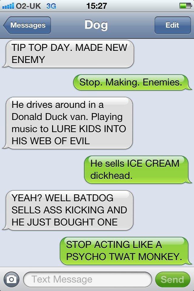 Making Enemys
