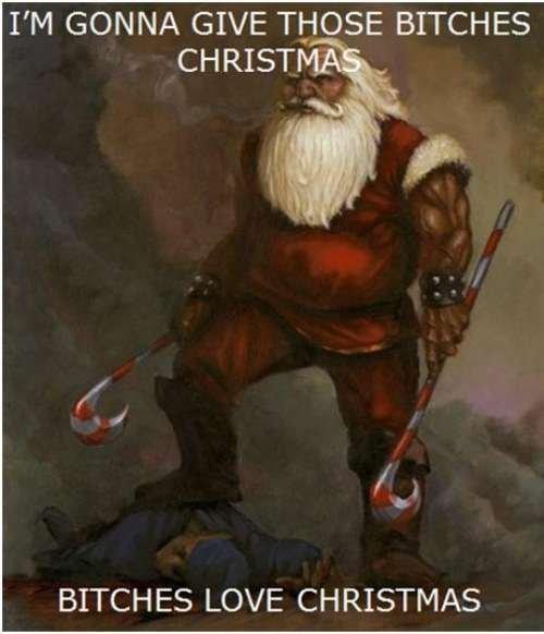 MERRY CHRISTMAS MOTHERFUCKER
