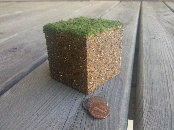 minecraft dirt blocks