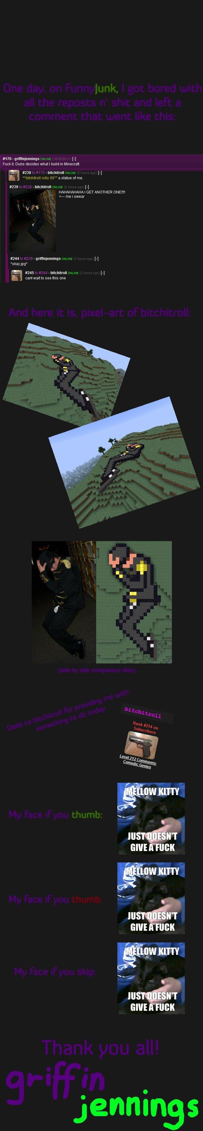 Minecraft Pixel Art Dubs