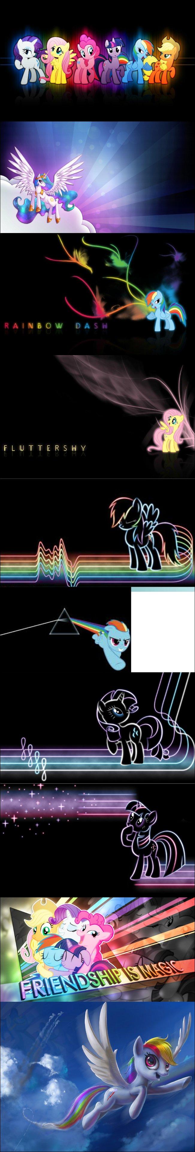 My Little Pony Wallpaper Comp