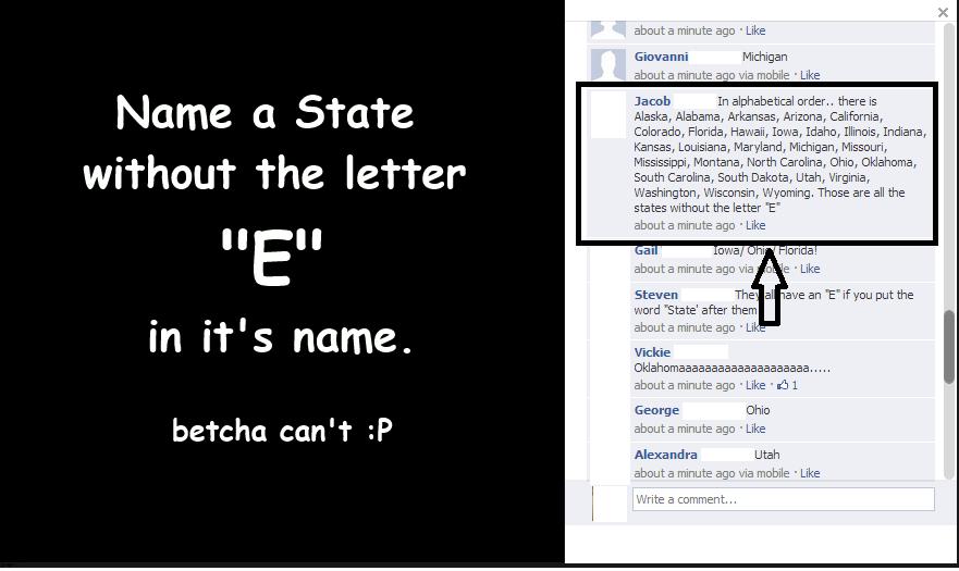Name a State