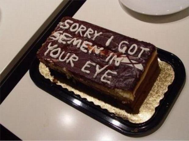 Nothing Says Im Sorry Like Cake
