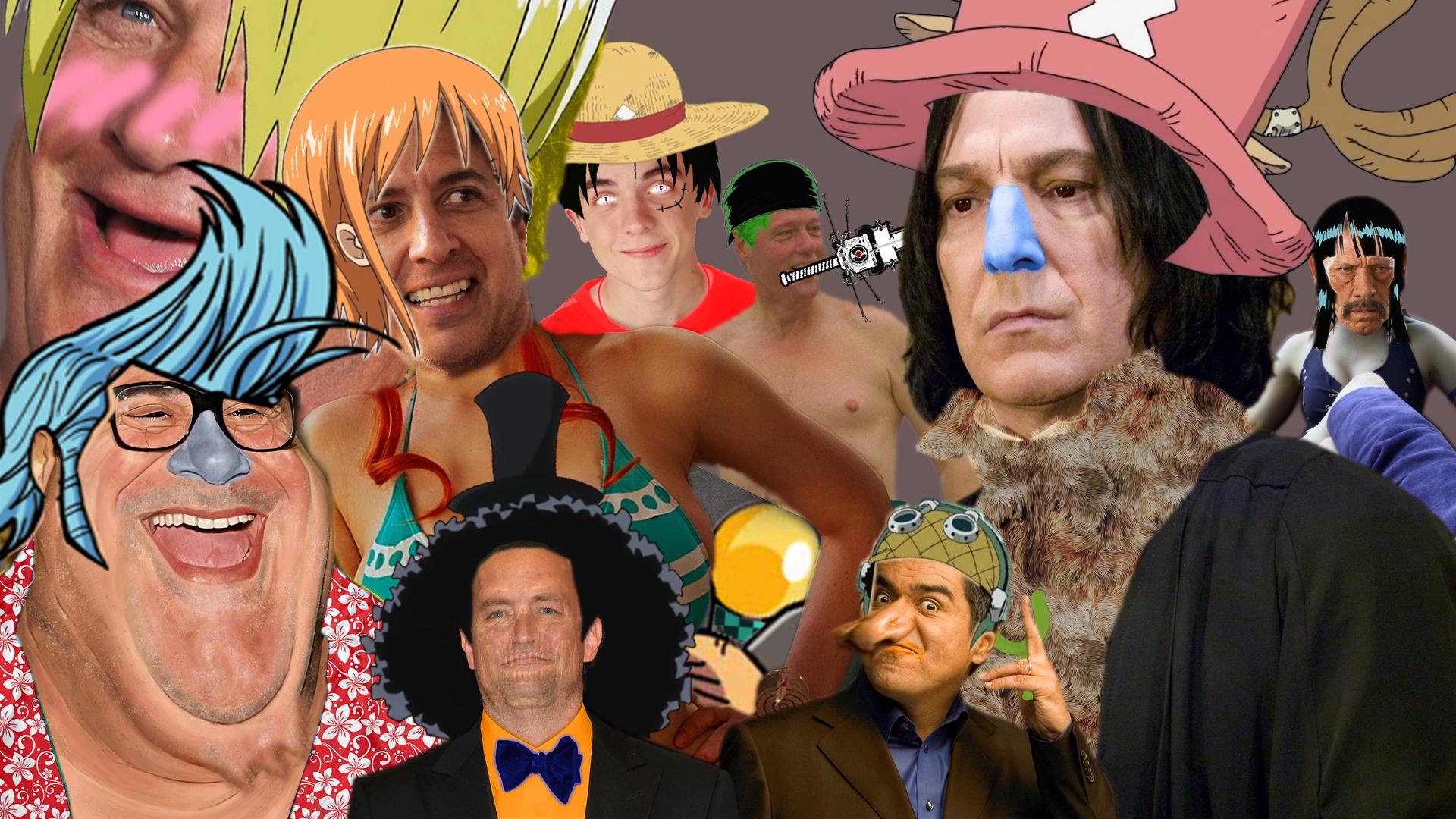 One Piece Live Action Cast Wallpaper