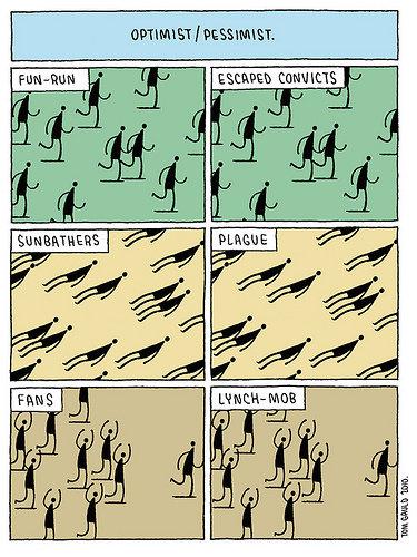optimism vs pessimism essay