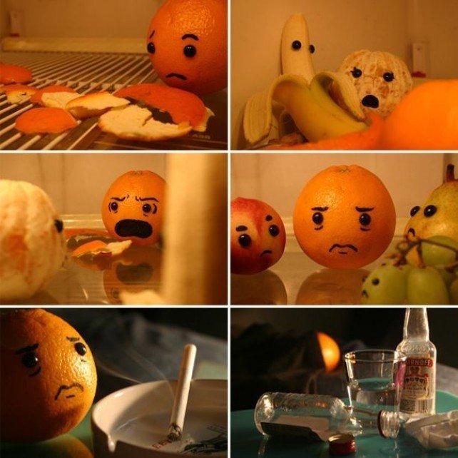 Anal Girl in Orange