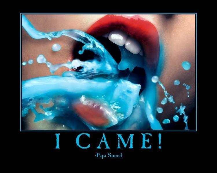 Papa Smurf Came