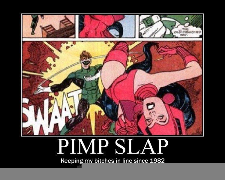 Pimp Slaps His Hoe
