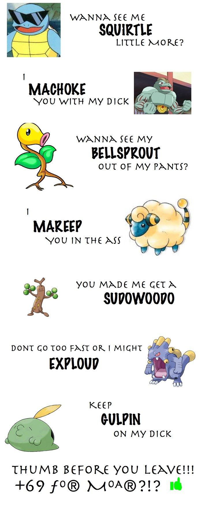 Your funny pokemon jokes