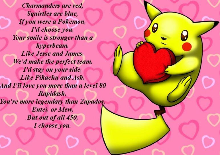 Pokemon Poem