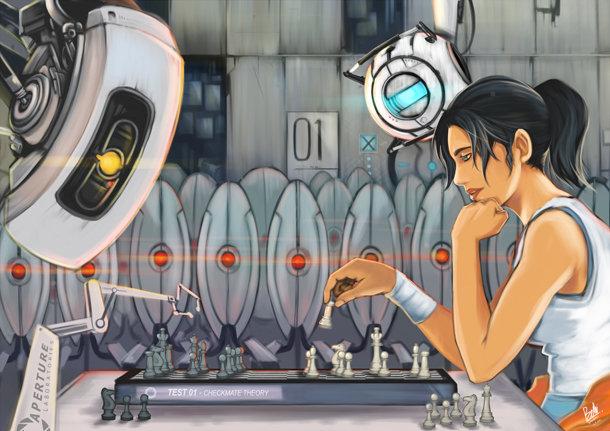 Portal 2 Art