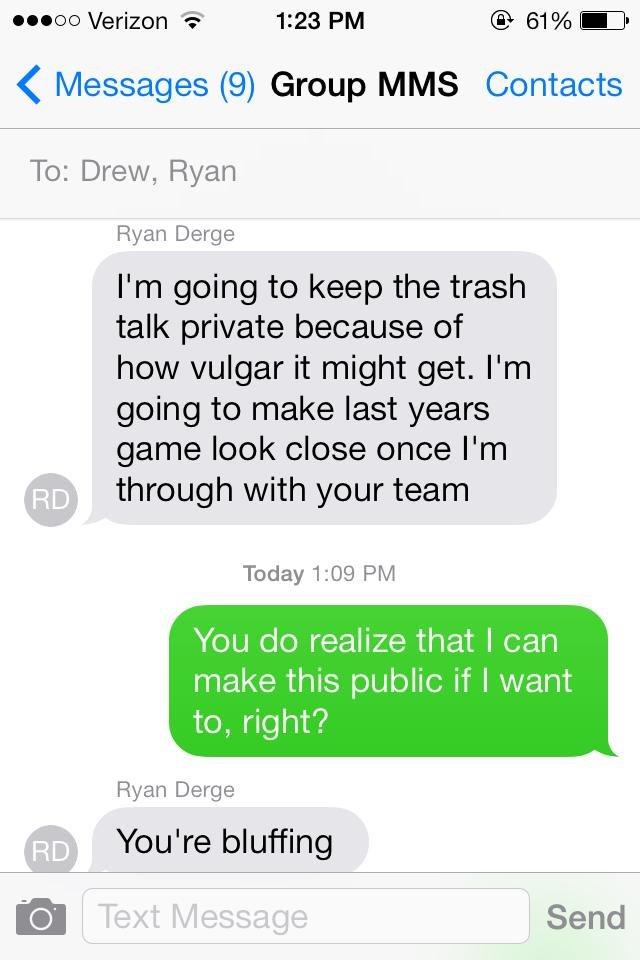 Vulgar Text Messages