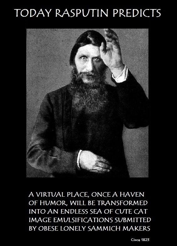 rasputin sex maniac or holy man Pre-revolutionary russia was the sort of place where more than one holy man rasputin was whispered to be a lascivious sex maniac iliodor defended rasputin.