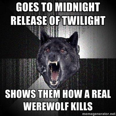 Real Werewolf OC