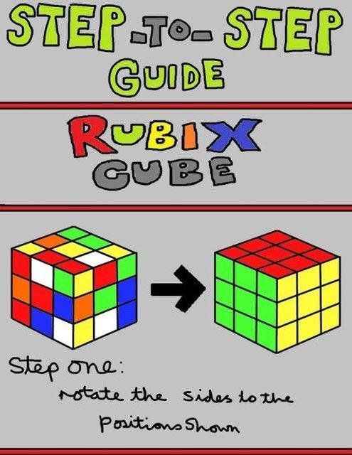 Rubix Cube Instructions