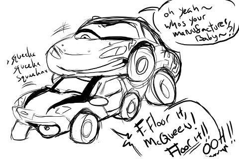 Cars cartoon porn