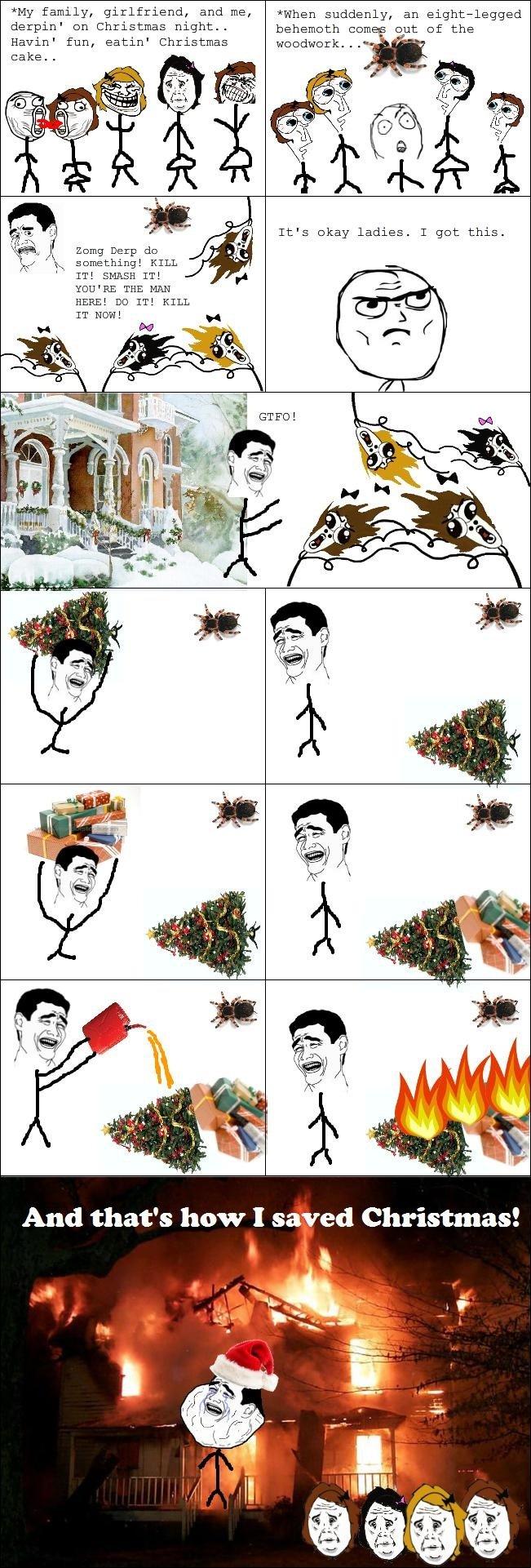 Saved Christmas