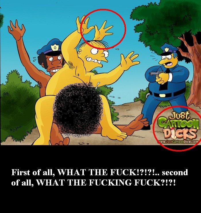 cartoons Simpsons gay