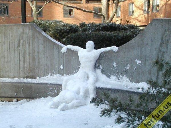 snow blowjob