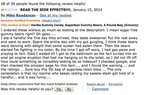 sugarless gummy bears