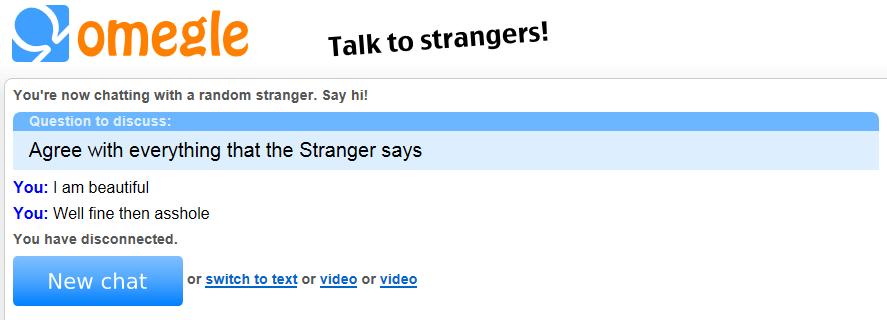 Talk to Strangers!