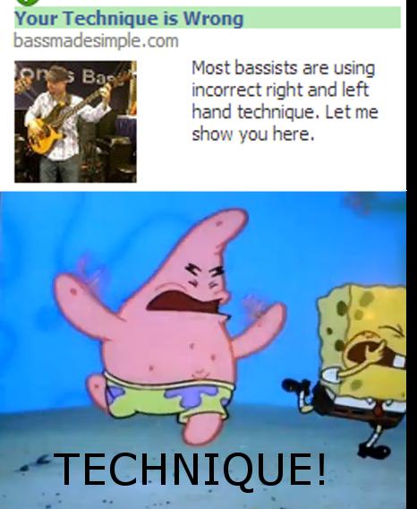 Spongebob Technique