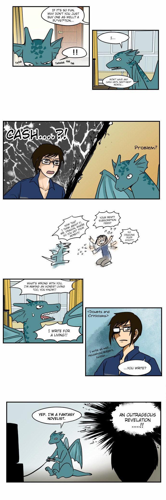 The Dragon Next Door comic