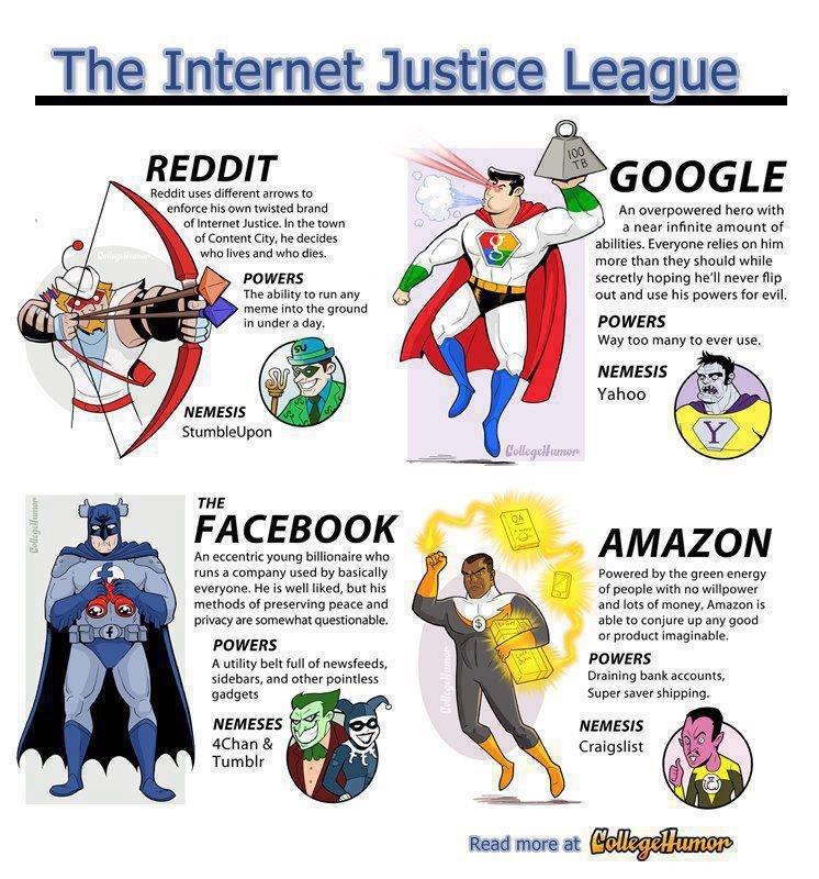 The Internet Justice League!