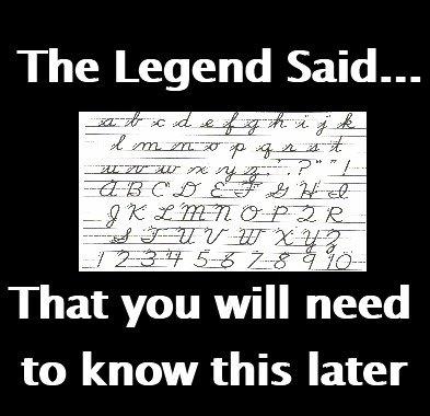 The Legend Said