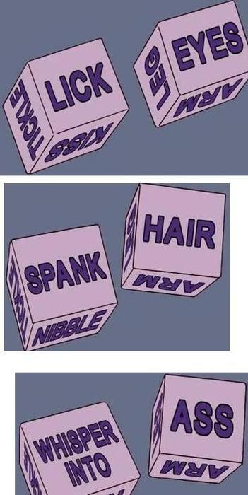 Kinky sex dice