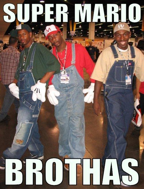 The Super Mario Brothas