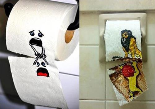 Image result for toiletpaper art